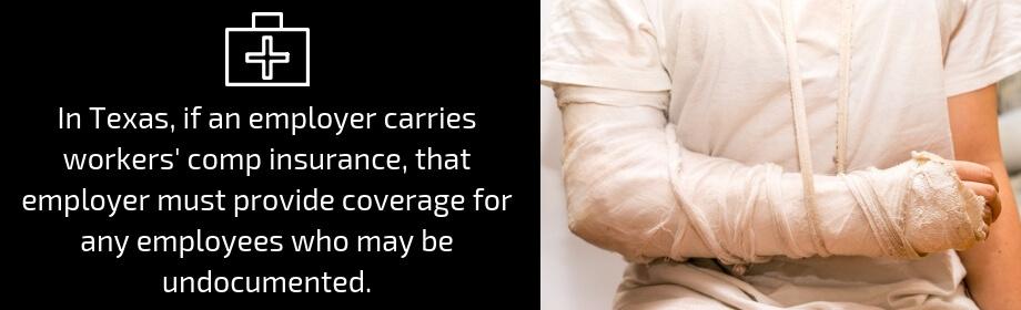 Broken Arm of Worker